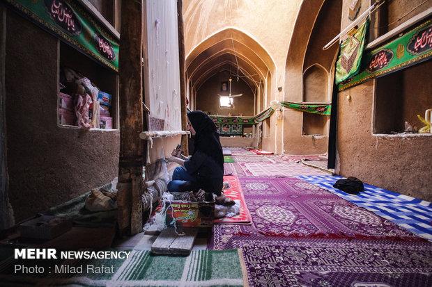 الحياة في صحراء إيران