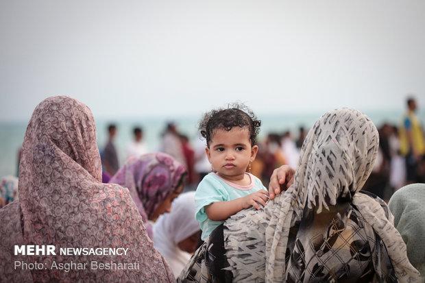 Qeshm Island hosts Nowrooz Sayad Festival (Fishermen)