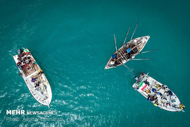 مهرجان نيروز الصياد في جزيرة قشم