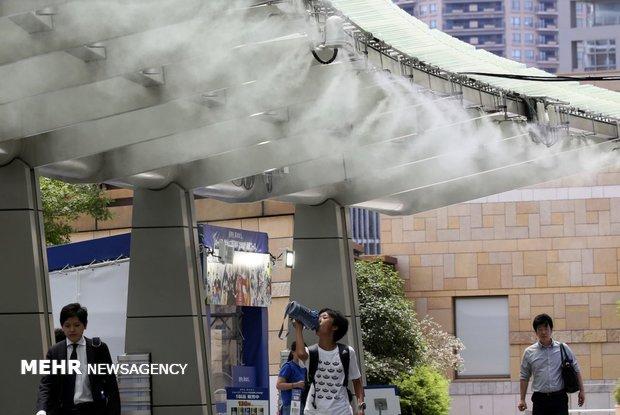 گرمای شدید هوا در ژاپن/ ۱۱ کشته و ۵۶۶۴ نفر تحت درمان در بیمارستان