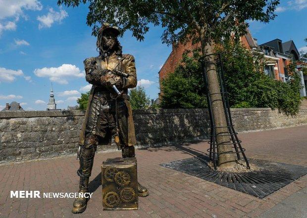 Canlı heykel festivali