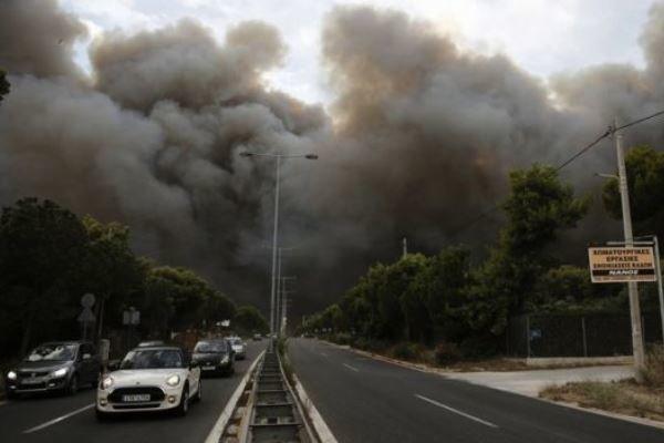 الصليب الأحمر اليوناني : العثور على 26 ضحية أخرى من حريق مدمر في اليونان
