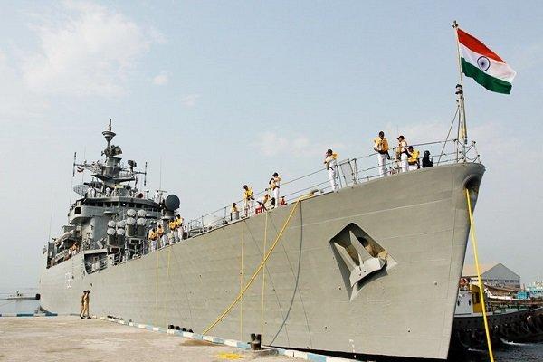 Indian frigate docks at Iran's Bandar Abbas