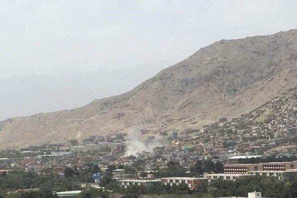 وہابی دہشت گردوں کا کابل پر راکٹوں سے حملہ