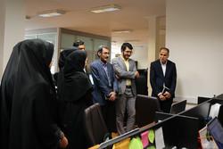رئیس سازمان فضایی ایران از خبرگزاری مهر بازدید کرد
