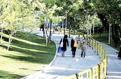 Ground broken for women-only park in southwestern Tehran