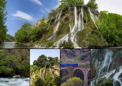 آبشاری بینظیر و دیدنی؛ جادوی «بیشه» طبیعت گردان را مسحور کرد