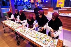 پخت کیک ۶ متری در مسابقه «دستپخت»
