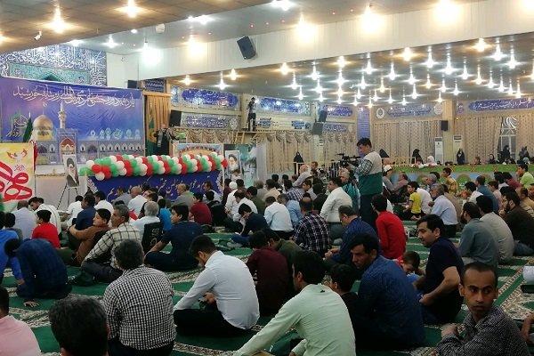 جشن میلاد حضرت رضا(ع) در نقاط مختلف استان بوشهر برگزار شد