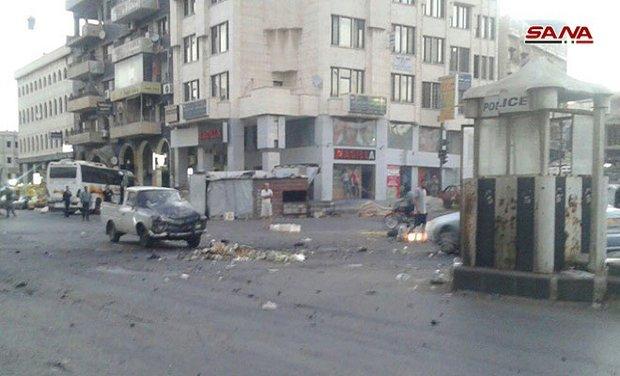 75 قتيلاً وجريحاً حصيلة التفجير الارهابي في السويداء السورية