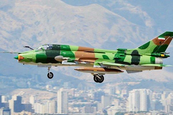 """10 مقاتلات """"سوخوي 22"""" تنضم الى الاسطول الجوي التابع للحرس الثوري الايراني"""