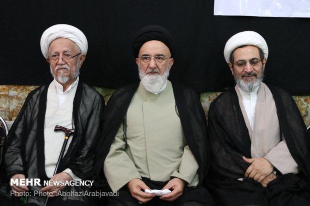 مراسم ترحیم آیت الله مرتضی تهرانی