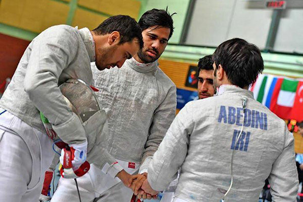 Iranian men's sabre team finishes 6th at World Fencing C'ships