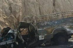تصادف وانت نیسان در جاده کمربندی گچساران جان یک نفر را گرفت