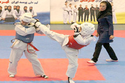 مسابقات ملی تکواندو دختران خردسال در سرخه برگزار میشود