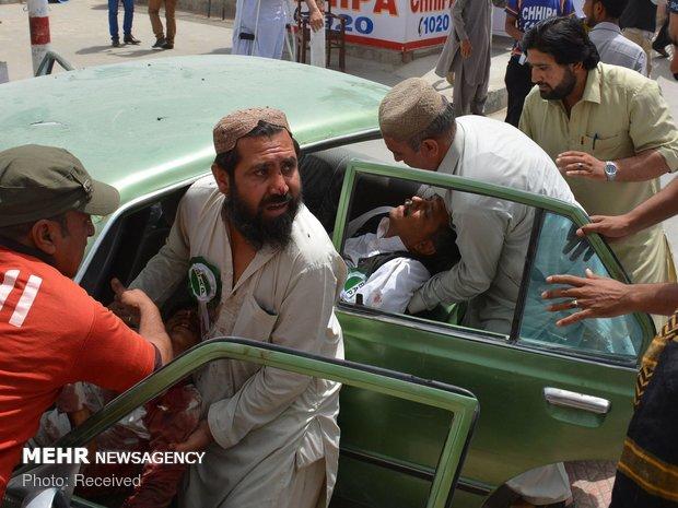 کوئٹہ میں مشرقی بائی پاس پر دھماکے میں 2 افراد ہلاک