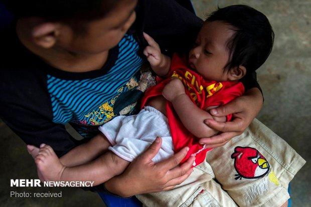 Laos'taki baraj faciasından fotoğraflar