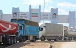 تردد ۱۲۱ هزار کامیون ترانزیتی از مرز پرویزخان