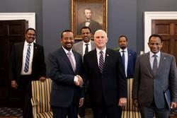 معاون ترامپ با نخست وزیر اتیوپی دیدار کرد