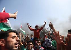 اعتراضات مردمی در نوار غزه