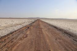 وضعیت دریاچه نمک قم وخیمتر شده است