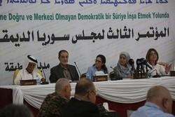 """اتفاق بين """"سوريا الديمقراطية"""" والحكومة على مفاوضات إنهاء الحرب"""