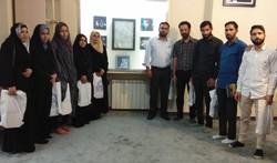 بازدید فعالان فرهنگی کشمیری از دفتر مطالعات جبهه فرهنگی انقلاب