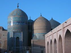 A view of the Sheikh Safi al-Din Khanegah and Shrine Ensemble