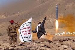 نیروهای یمنی موشک بالستیک به جنوب عربستان شلیک کردند