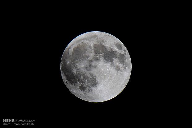 طولانی ترین ماه گرفتگی قرن - همدان ایمان حامی خواه