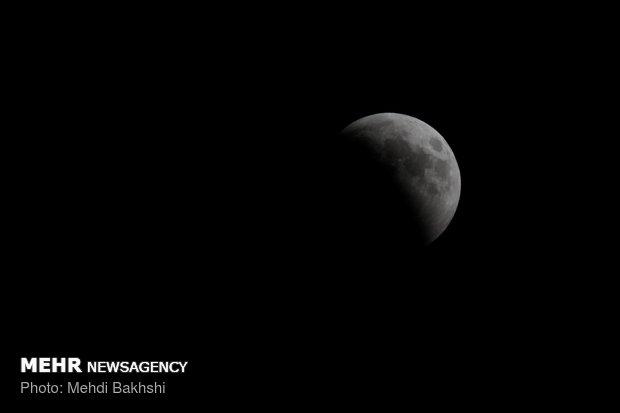 طولانی ترین ماه گرفتگی قرن - قم مهدی بخشی سورکی