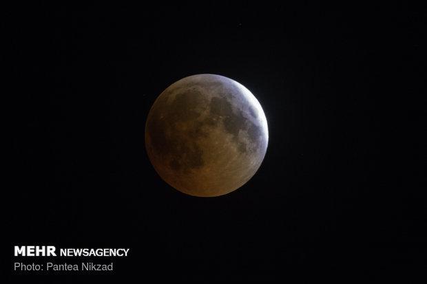 طولانی ترین ماه گرفتگی قرن - شهرکرد - پانته آ نیکزاد