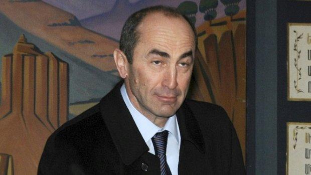 اصدار مذكرة اعتقال رئيس أرمينيا الاسبق بتهمة تزوير الانتخابات