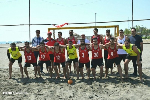 Iran loses to Sweden in Beach Handball World C'ships quarters
