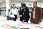 بازدید هیأت رسانه ای خبرگزاری مهر و روزنامه تهران تایمز از روزنامه راه آهن چین