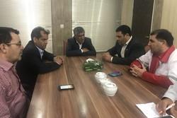 حضور سرپرست مدیریت بحران و مدیرعامل جمعیت هلالاحمر لرستان در کوهدشت