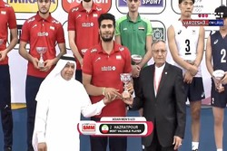 VIDEO: Iran raise the cup in Asian Men's U20 Volleyball Ch'ship