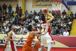مسابقات بسکتبال نوجوانان غرب آسیا در گرگان