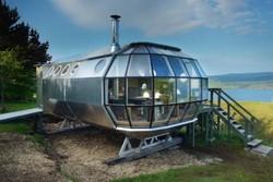 تصاویر خانه ای شبیه فضاپیما در اسکاتلند