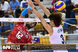 فلم/ ایرانی جوانوں کی قومی والیبال ٹیم کی ایشیائی مقابلوں میں شاندار فتح