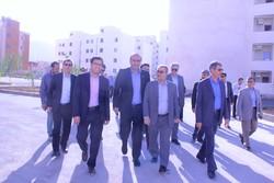 وضعیت پروژه مسکن مهر بناسازان رمضان  شهر صدرا بررسی شد