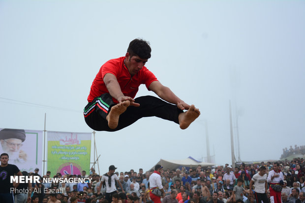 Local games festival in Javaherdasht