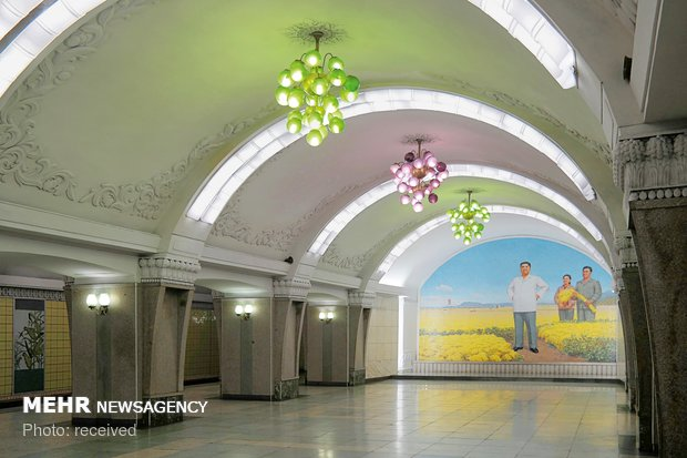ایستگاه های متروی پیونگ یانگ