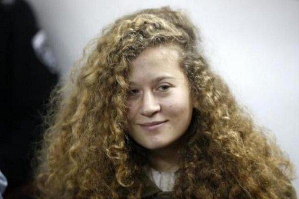 الاحتلال الإسرائيلي يطلق سراح المراهقة عهد التميمي