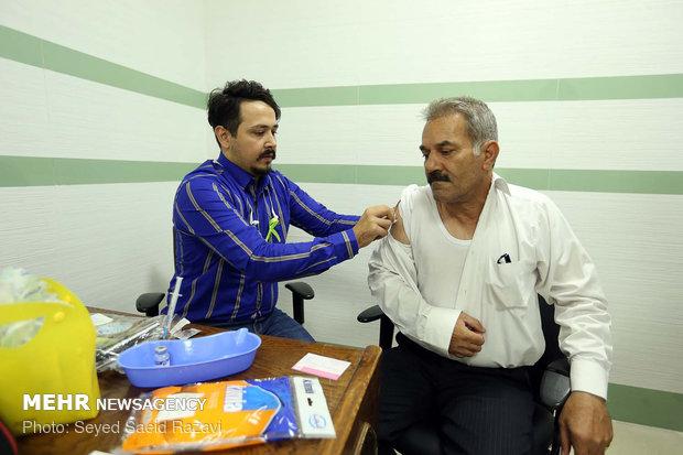 واکسیناسیون در روز جهانی هپاتیت