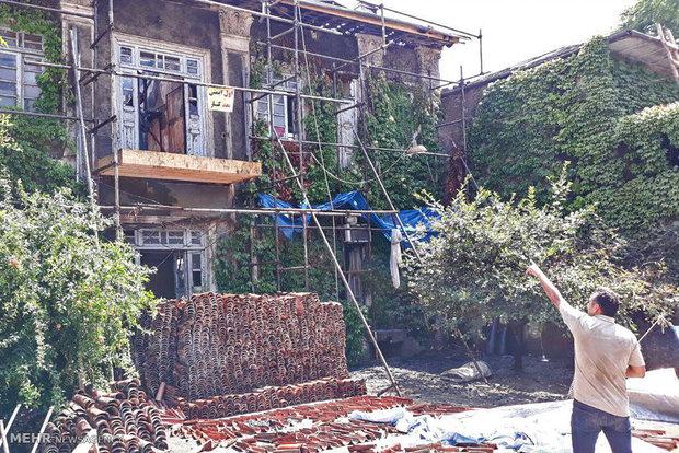 خانه تاریخی دارویی گرگان در آتش سوخت