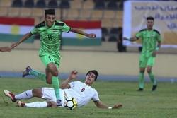 فوز ايران على العراق اولمبيا في مباراة ودية