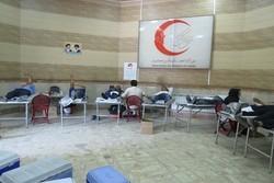 ۱۴ هزار و ۷۳۹ داوطلب هلال احمر خون اهدا کردند