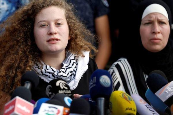 Filistinli cesur kızın kardeşi gözaltına alındı