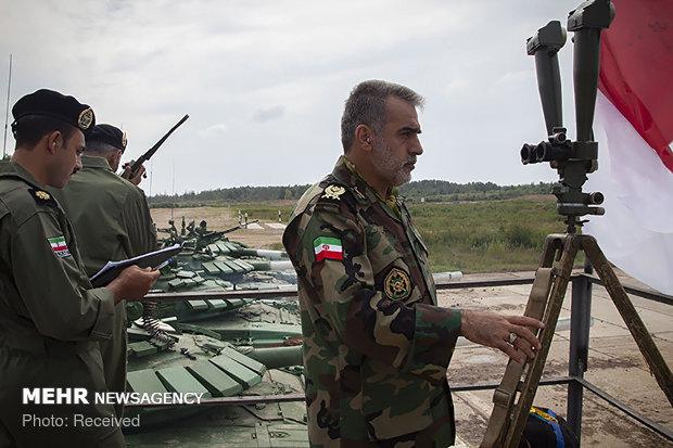 پنجمین دوره مسابقات بین المللی ارتش های جهان در روسیه